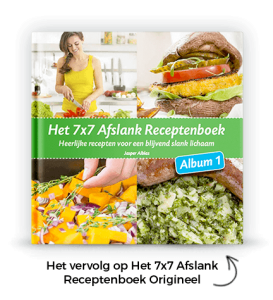 7x7 receptenboek gezond afvallen
