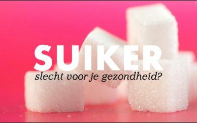 Suiker slecht voor je gezondheid