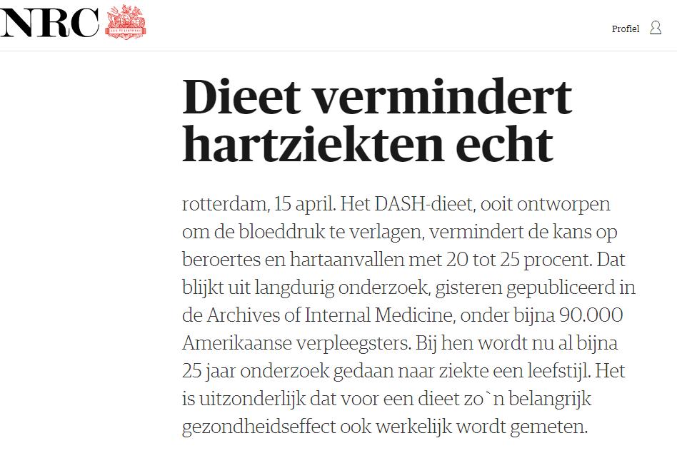 Dash Dieet - tips-omaftevallen.nl