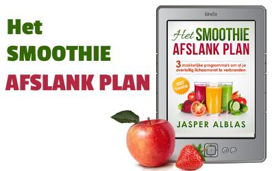 Het effectieve smoothie afslank plan van Jasper Alblas