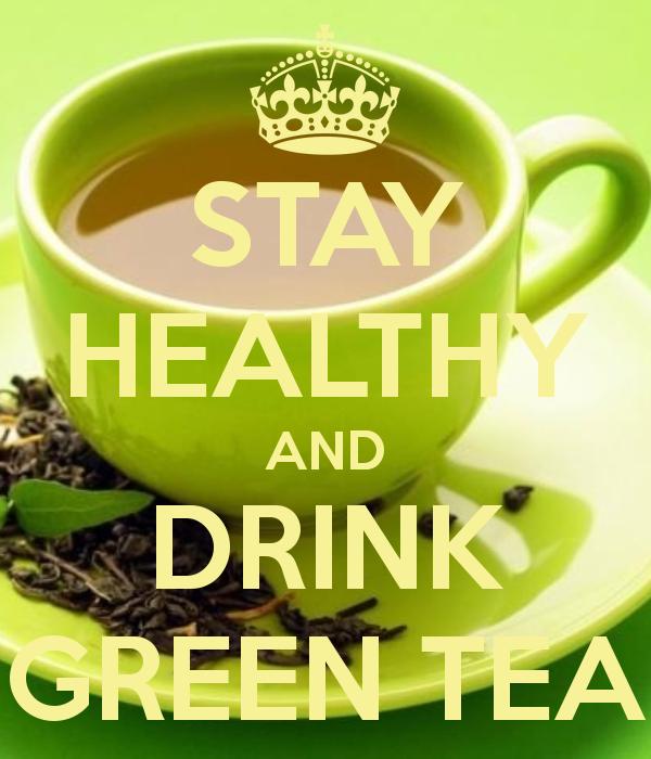 groene thee - gezonde gewoonte