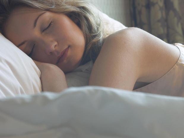 voldoende slaap om effectief af te vallen