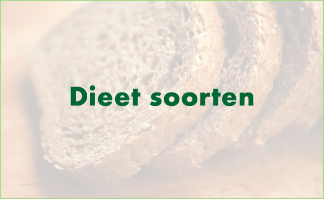 Soorten dieet