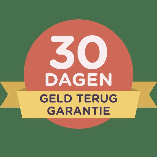30 dagen garantie
