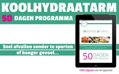 Koolhydraatarm Afslank Programma