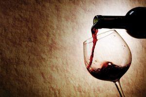 Rode wijn - tipsomaftevallen